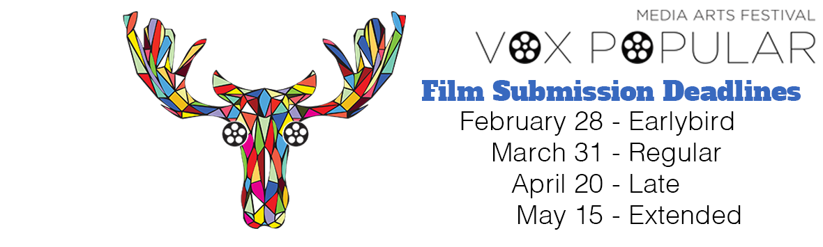 Show off your film at our 15th annual film festival!